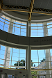 looking out from Kim Atrium Rotunda
